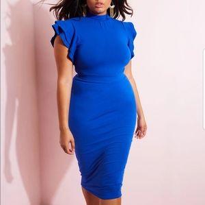 Reddolls New bodycon Midi Dress